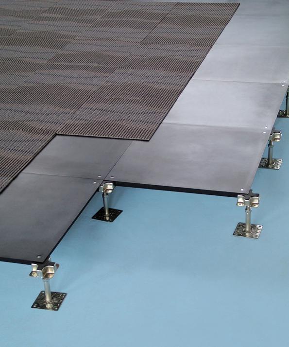 Jindao Hollow Steel Raised Access Floor Photo Gallery